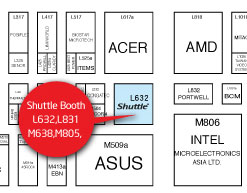 Computex 2009 Shuttle Booth  L632, L831, M638, M805, TWTC Nangang Exhibition Hall